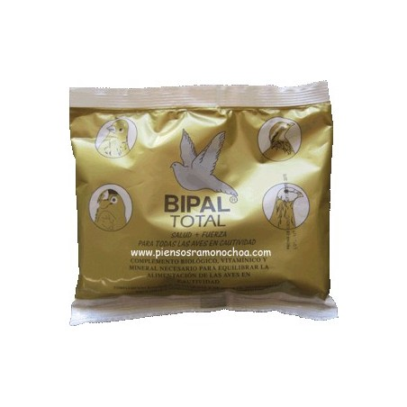 Bipal Total para Aves 500grs. Complemento biológico, vitamínico y mineral.