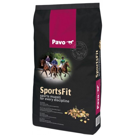 Pienso para caballos Pavo SportsFit 15Kg