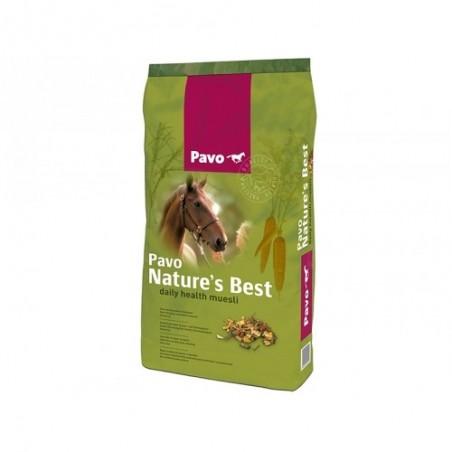 Pienso para caballos Pavo Nature's Best 15Kg