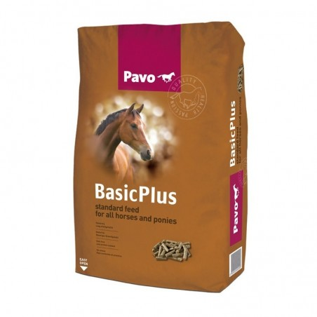 Pienso para caballos Pavo Basic Plus 20Kg