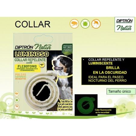 Collar antiparásitos para perros