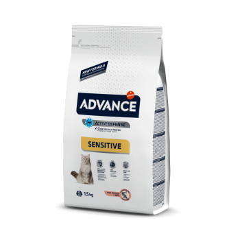 Pienso para gatos Advance Sensitive