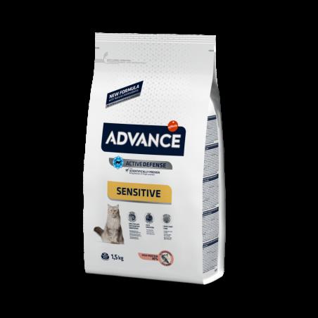 Advance Sensitive para gatos no esterilizados