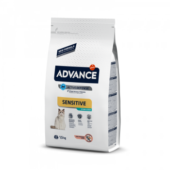 Pienso para gatos Advance Sensitive Sterilized