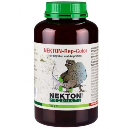 Vitaminas para reptiles. Nekto Rep color