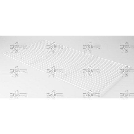 Rejilla blanca para jaula 120 cm