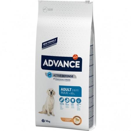 Pienso para perros Advance Maxi Adult Pollo y Arroz 14kg
