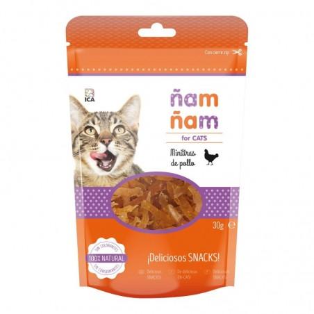 Snacks para gatos ÑAM ÑAM Pollo 30g