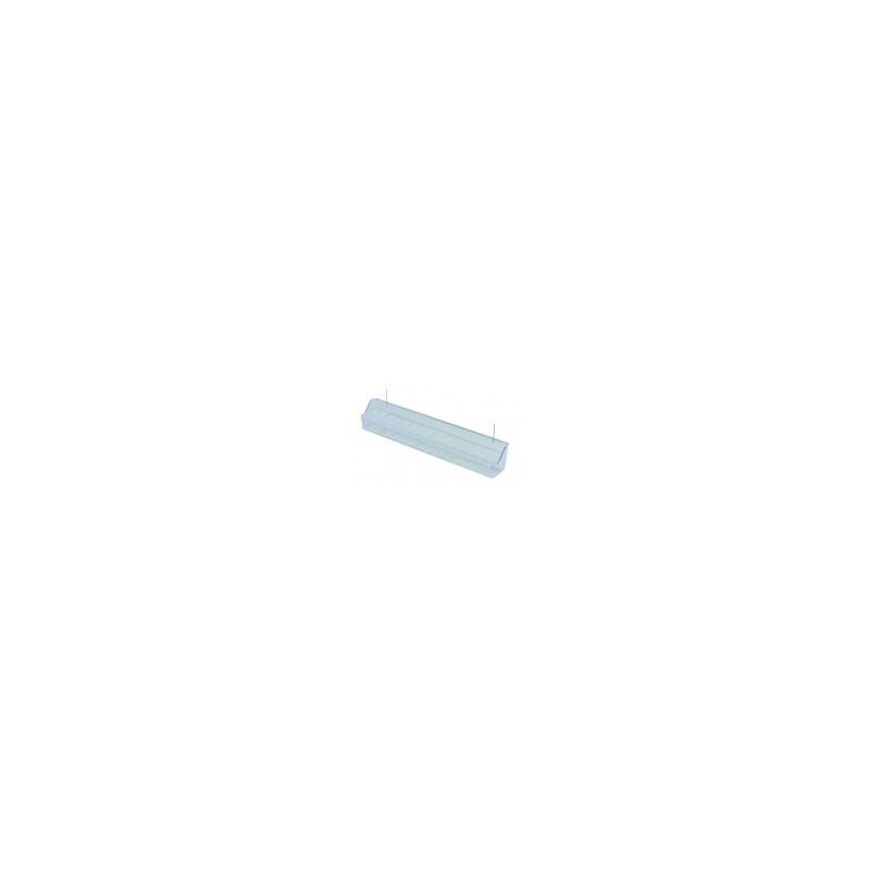 Comedero transparente para voladora con alambre