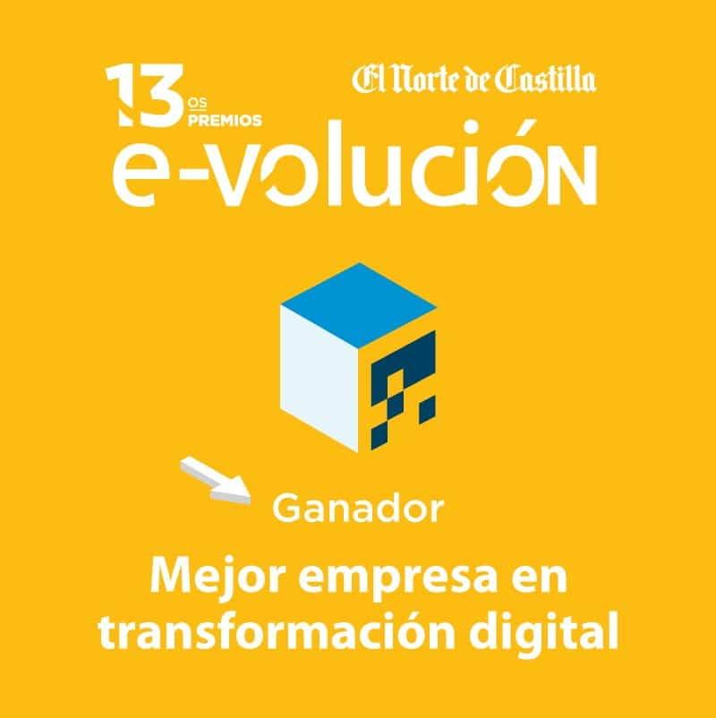 Agroanimal. Ganador Mejor empresa en transformación digital - premios e-volución